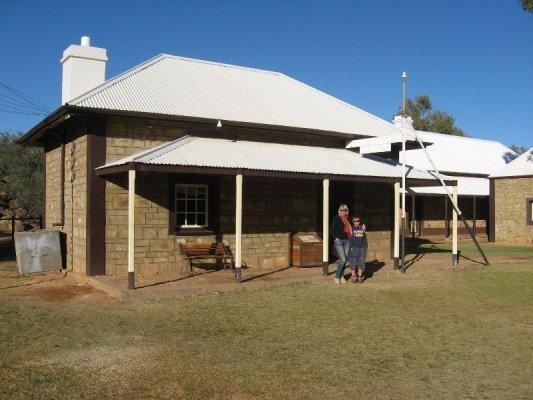 Stazione telegrafo Alice Springs