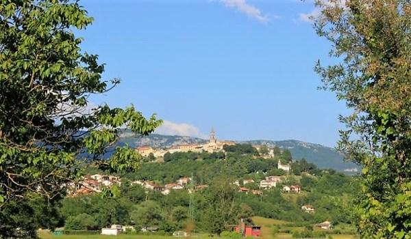Panorama Buzet Istria