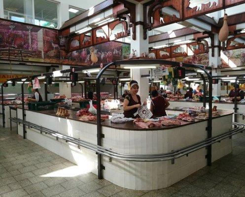 Mercato carne Tiraspol Transnistria