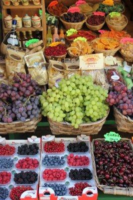 Negozio frutta Siena