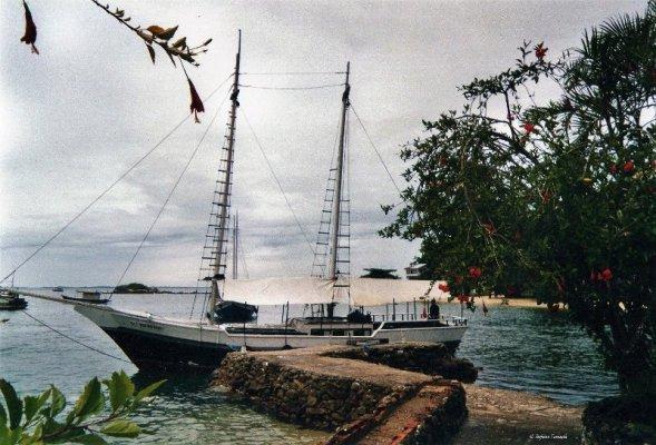 Goletta isola Itacuruçà Brasile
