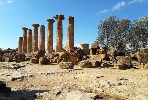 Valle dei Templi, tempio Giove