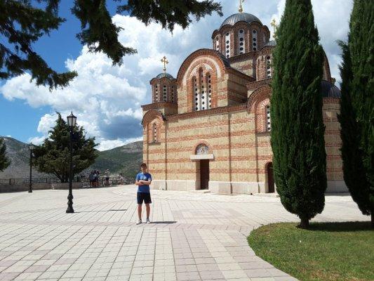Chiesa Hercegovačka Gračanica Trebinje Bosnia Erzegovina
