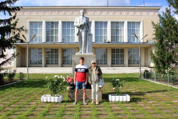 Monumento Lenin municipio Copceac Gagaùzia