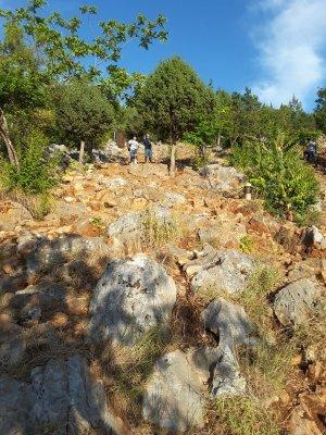 Collina apparizioni Međugorje Bosnia Erzegovina
