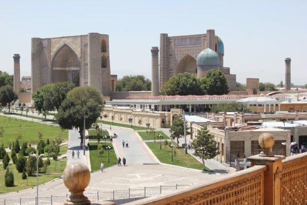 Moschea Bibi Khanym Samarcanda