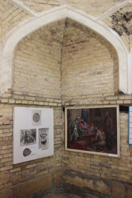 Museo Zindon Ark Bukhara Uzbekistan