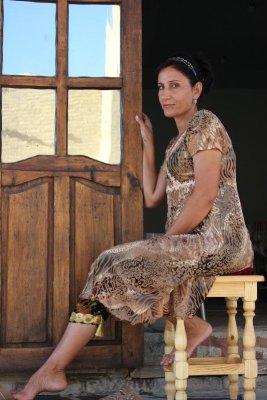 Abiti tradizionali uzbeki