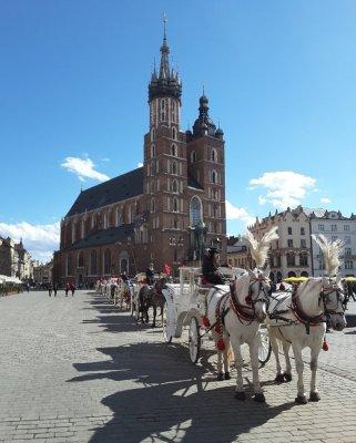 Kościół Mariacki Cracovia
