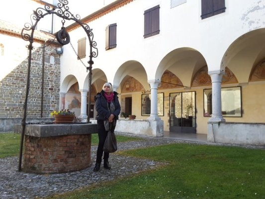 Chiostro Abbazia Rosazzo