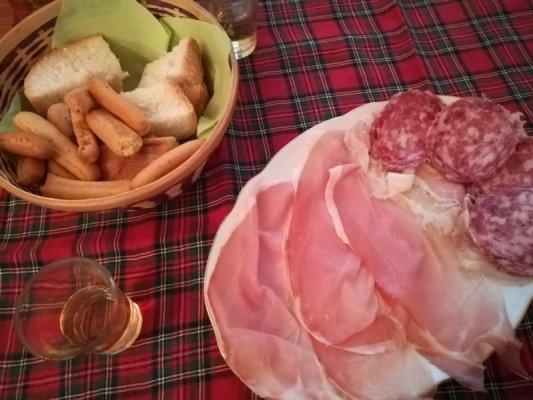 Affettati misti Friuli piatto tipico
