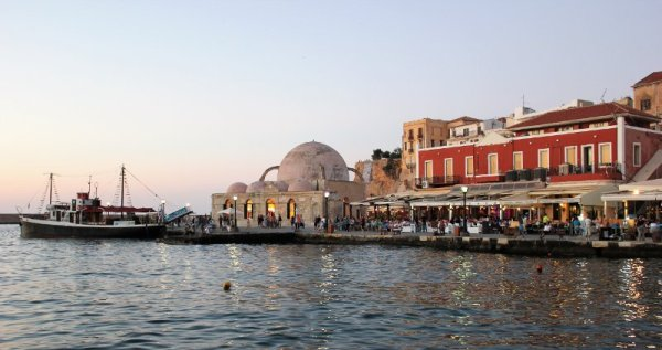 Tramonto a Chania Creta