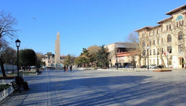 Antico Ippodromo a Sultanahmet Istanbul