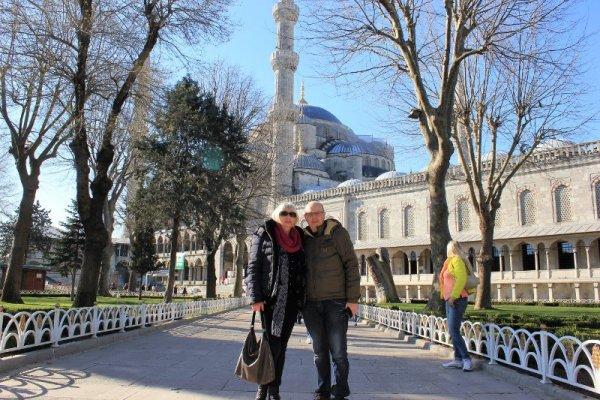Moschea Blu a Istanbul