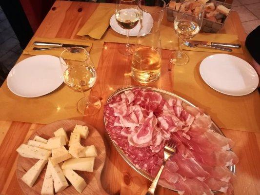 Tagliere affettati formaggi misti Colli Orientali Friuli