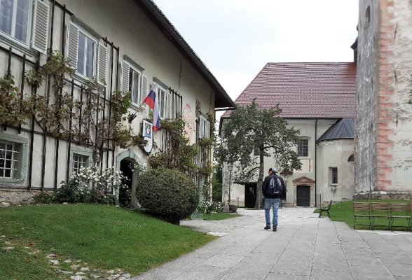 Isola sul lago di Bled Slovenia