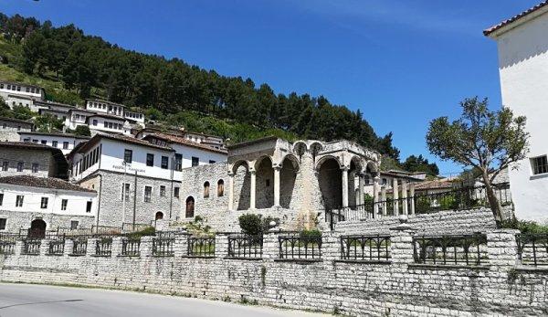 Resti Palazzo del Pasha Berat Albania