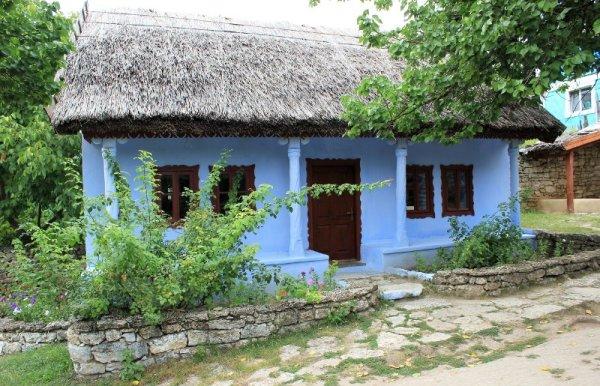 Casa tradizionale a Butuceni Moldova