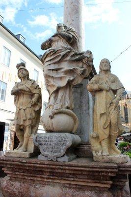 Colonna Santa Trinità Villach Austria