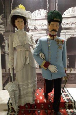 Statua Arciduca Francesco Ferdinando d'Asburgo e di sua moglie Sofia (Museo Sarajevo 1878 - 1918)