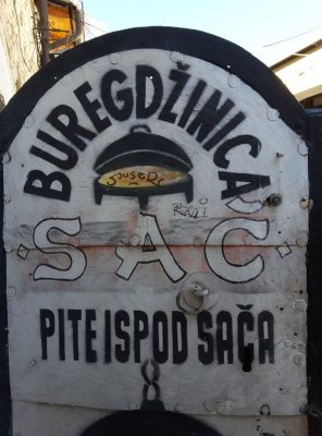 Insegna Buregdžinica Sač Sarajevo
