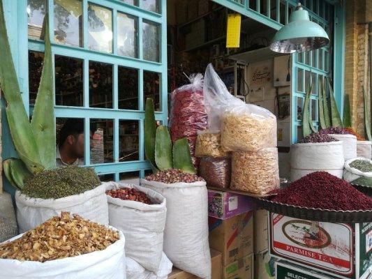 Bottega di spezie Bazar-e Vakil Shiraz Iran