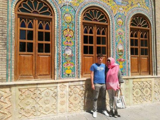 Palazzo Golestan a Teheran Iran