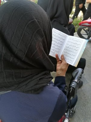 Processione Muharram a Esfahan Iran