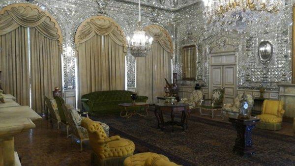 Sala nel Palazzo Golestan Teheran Iran