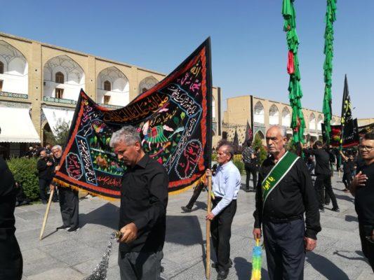 Processione del Muharram Imam Square Esfahan