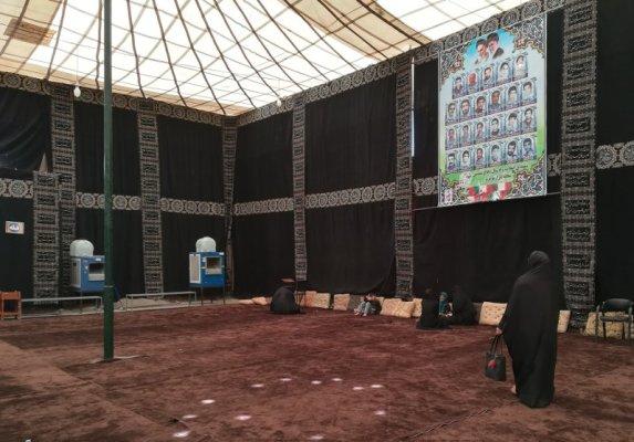 Sala della preghiera durante il Muharram Yazd Iran