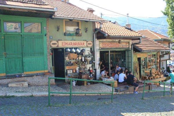 Sala da tè Džirlo a Sarajevo