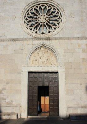 Ingresso Duomo di Muggia