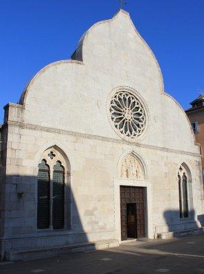 Facciata del Duomo di Muggia
