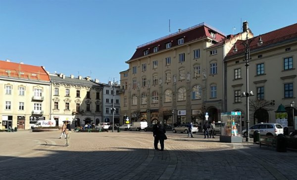 Piazza Szczepański a Cracovia