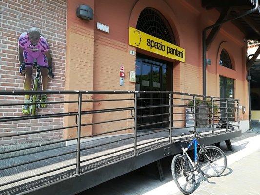 Ingresso spazio Marco Pantani a Cesenatico