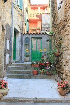 Calle centro storico Muggia