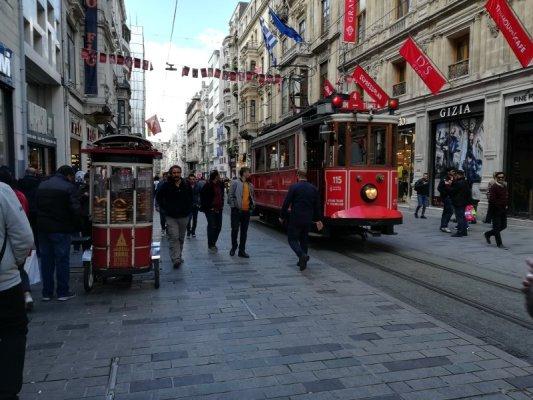 Istiklal Caddesi a Istanbul