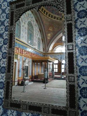 Palazzo del Topkapi Istanbul, sala dell'Harem