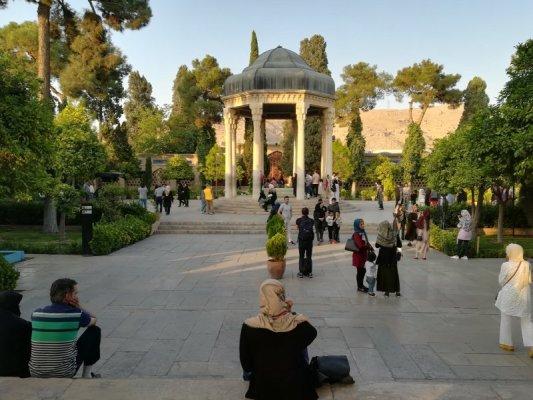 Mausoleo di Hafez Shiraz Iran