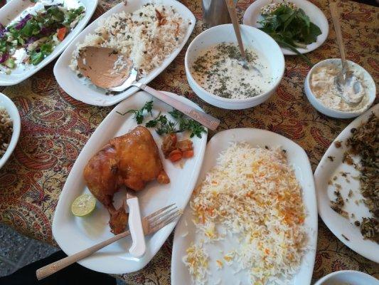 Ristorante tradizionale Bamdad Pasargade Iran