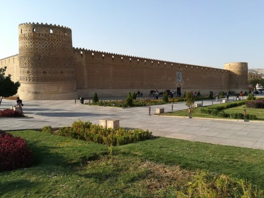 Esterno della fortezza Arg-e Karim Khan a Shiraz Iran