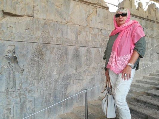 Scalinata Apadana Persepoli Takht-e Jamshid Iran