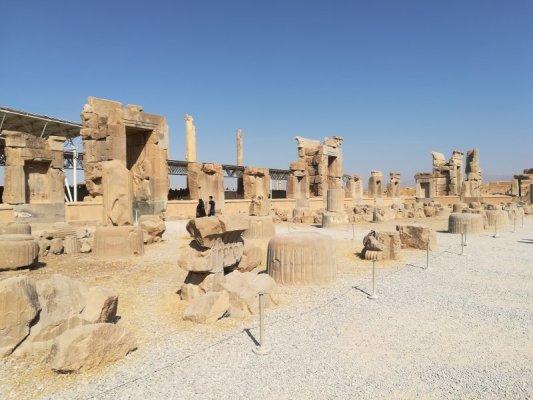 Area archeologica di Persepoli, Takht-e Jamshid, Iran