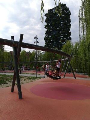 Parco Biblioteca degli Alberi a Milano