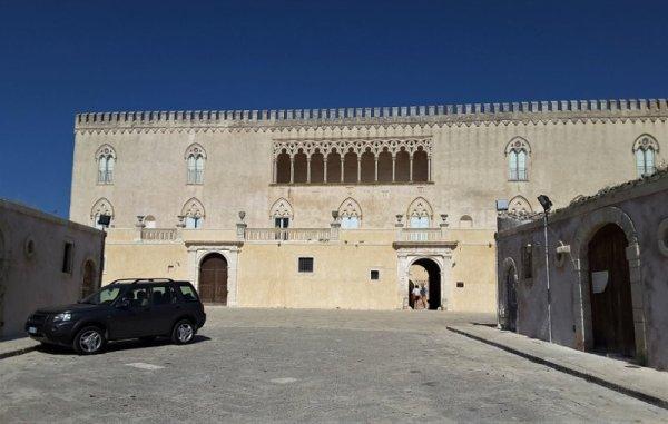 Ingresso al Castello di Donnafugata