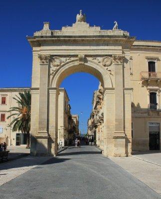 Noto, la Porta Reale