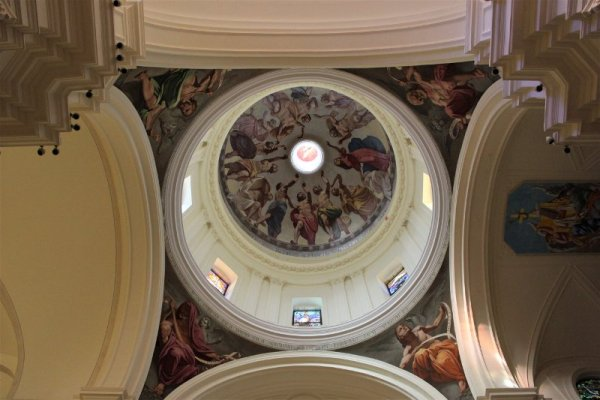 Interno della Cattedrale di San Nicolò a Noto