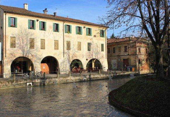 Il Cagnan Grande nel centro di Treviso