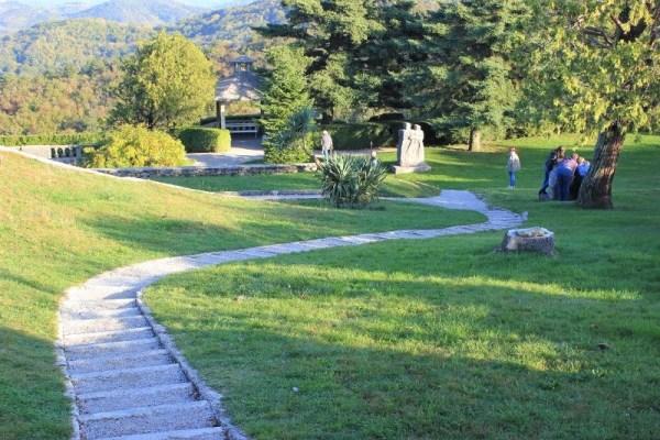 Il giardino Ferrari a Štanjel Slovenia